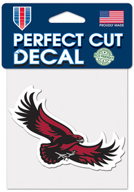 Saint Josephs Hawks 4x4 Color Auto Decal - Black