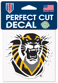 Fort Hays State Tigers 4x4 Color Auto Decal - Black