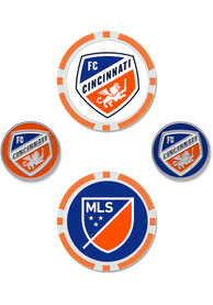 FC Cincinnati 4-Pack Set Golf Ball Marker