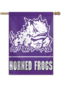 TCU Horned Frogs Team Name Banner