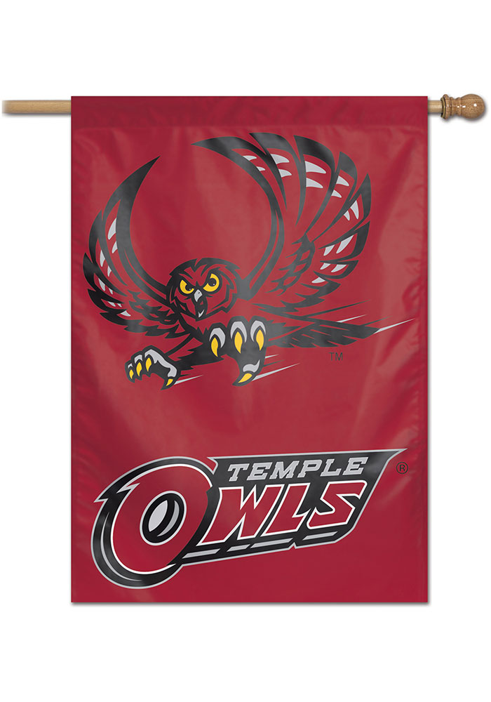 Temple Owls Team Name Banner