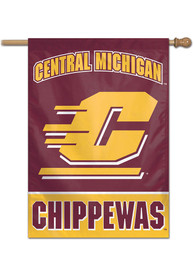 Central Michigan Chippewas Team Name Banner
