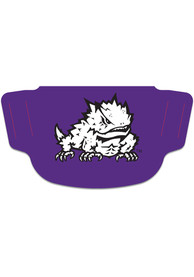 TCU Horned Frogs Team Logo Fan Mask - Purple