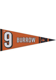 Cincinnati Bengals Joe Burrow Premium Joe Burrow Pennant