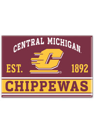 Central Michigan Chippewas 2x3 Magnet