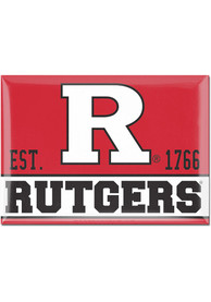 Rutgers Scarlet Knights 2x3 Magnet