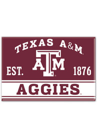 Texas A&M Aggies 2x3 Magnet