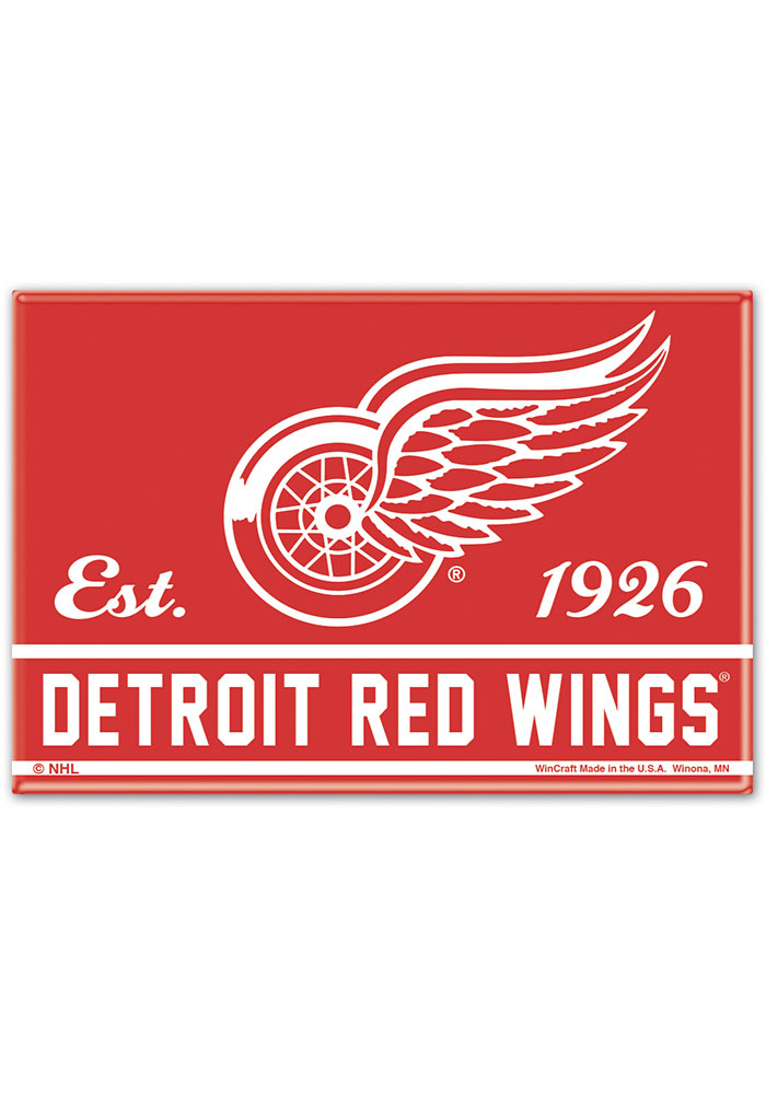 Detroit Red Wings 2x3 Magnet - Image 1