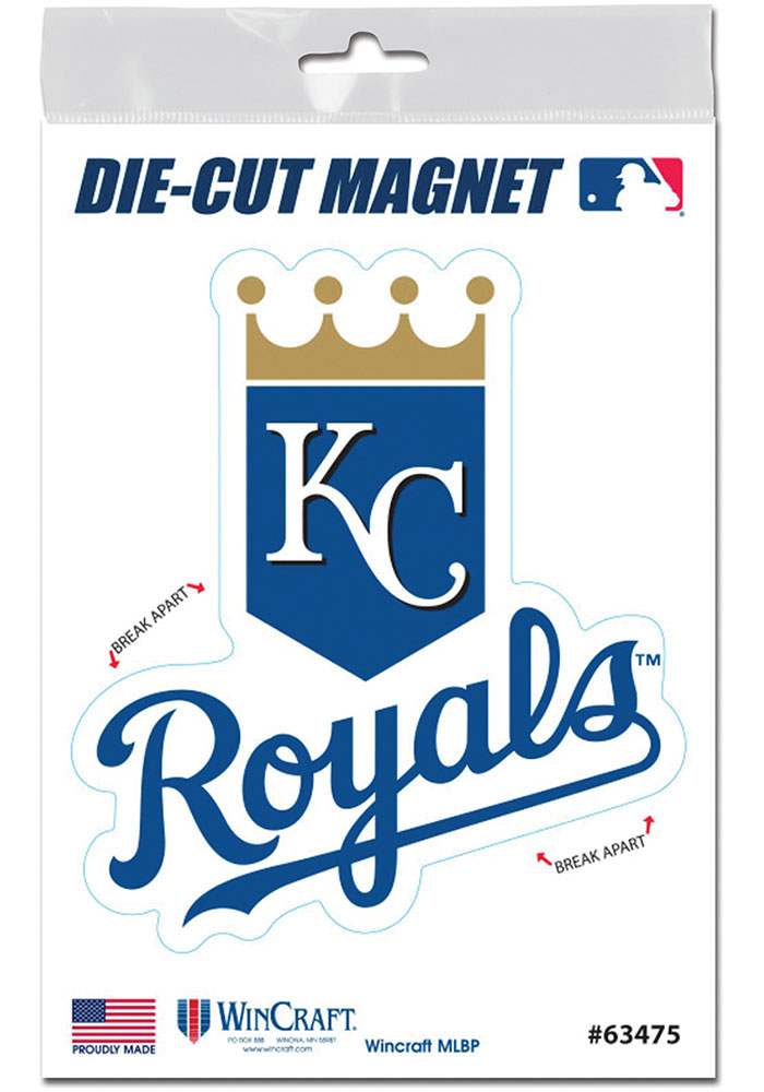 Kansas City Royals 3x5 Die Cut Magnet - Image 1