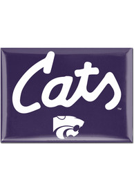 K-State Wildcats Cats Script 2.5 x 3.5 Magnet