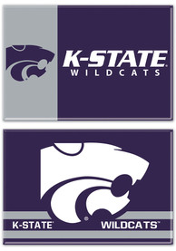 K-State Wildcats 2pk 2x3 Magnet