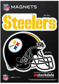 Pittsburgh Steelers 5x7 Car Magnet - Yellow