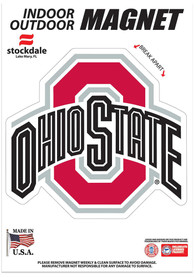 Ohio State Buckeyes 5x7 Car Magnet - Red