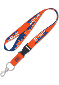 Detroit 1 inch Detachable Lanyard