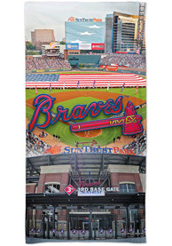 Atlanta Braves Spectra Beach Towel