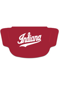 Indiana Hoosiers Team Logo Fan Mask - Red