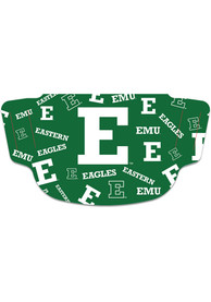 Eastern Michigan Eagles Scattered Fan Mask - Green