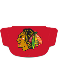 Chicago Blackhawks Team Logo Fan Mask - Red