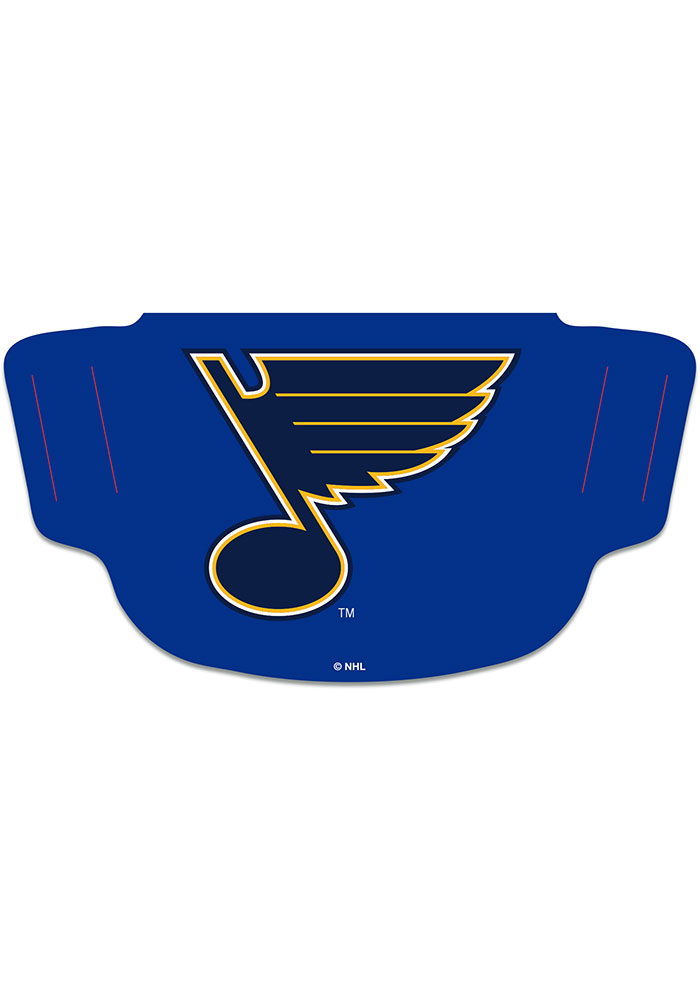 St Louis Blues Team Logo Fan Mask - Image 1