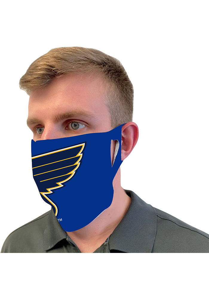 St Louis Blues Team Logo Fan Mask - Image 2