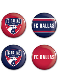 FC Dallas 4pk Button