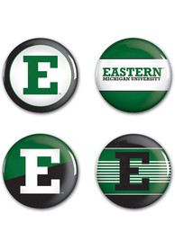 Eastern Michigan Eagles 4pk Button