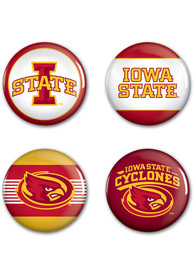 Iowa State Cyclones 4pk Button