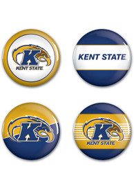 Kent State Golden Flashes 4pk Button