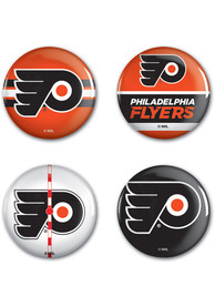 Philadelphia Flyers 4pk Button