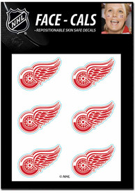 Detroit Red Wings 6pk Tattoo