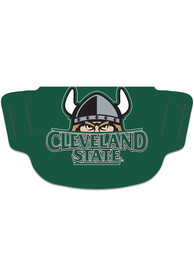 Cleveland State Vikings Team Logo Fan Mask - Green