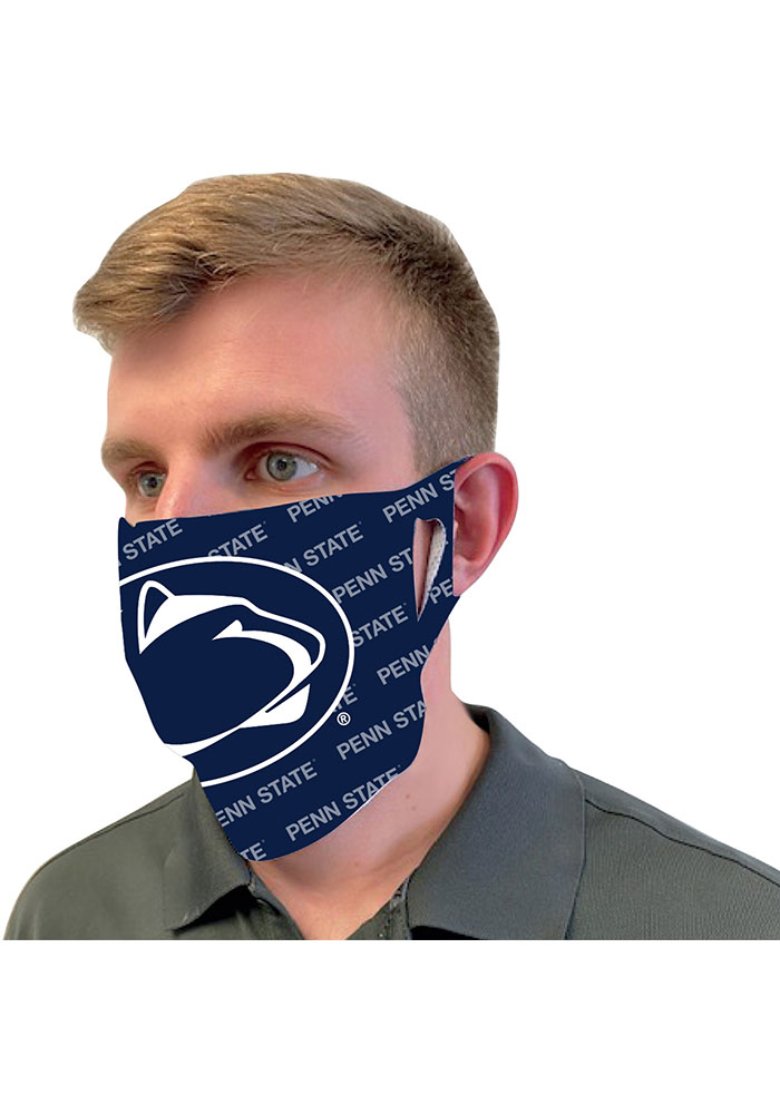Penn State Nittany Lions Repeat Team Logo Fan Mask - Image 2