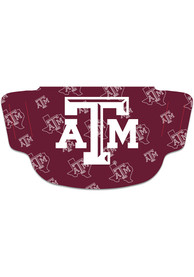 Texas A&M Aggies Repeat Team Logo Fan Mask - Red