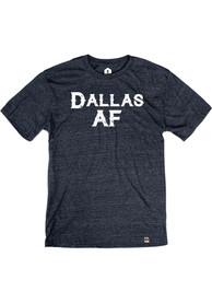 Dallas Heather Navy AF Short Sleeve T-Shirt