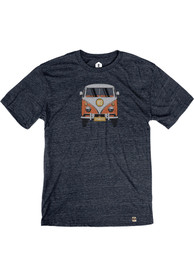 Springfield Heather Navy VW Bus Short Sleeve T-Shirt