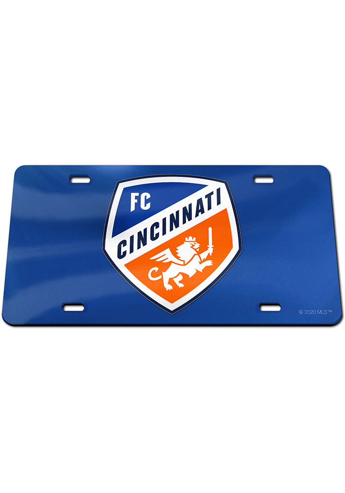 FC Cincinnati Team Logo Car Accessory License Plate - Image 1