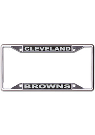 Cleveland Browns Black and Silver License Frame