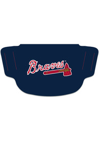 Atlanta Braves Team Logo Fan Mask - Blue