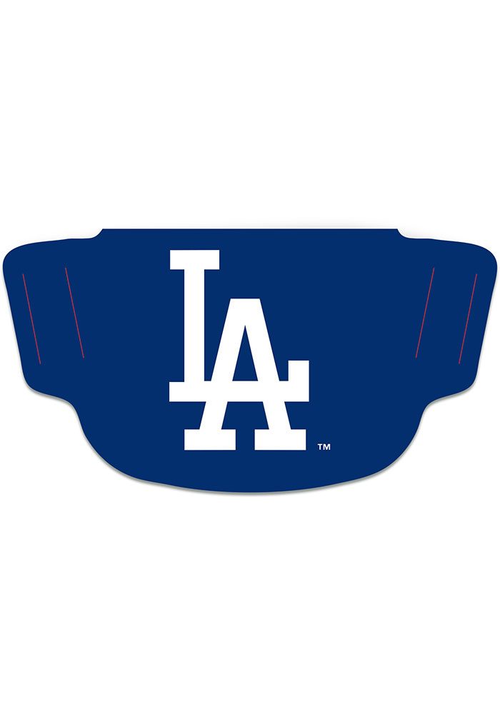 Los Angeles Dodgers Team Logo Fan Mask - Blue