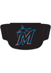 Miami Marlins Team Logo Fan Mask - Blue