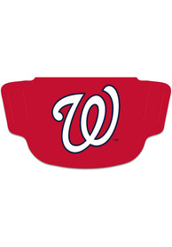 Washington Nationals Team Logo Fan Mask - Red