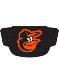 Baltimore Orioles Team Logo Fan Mask - Black