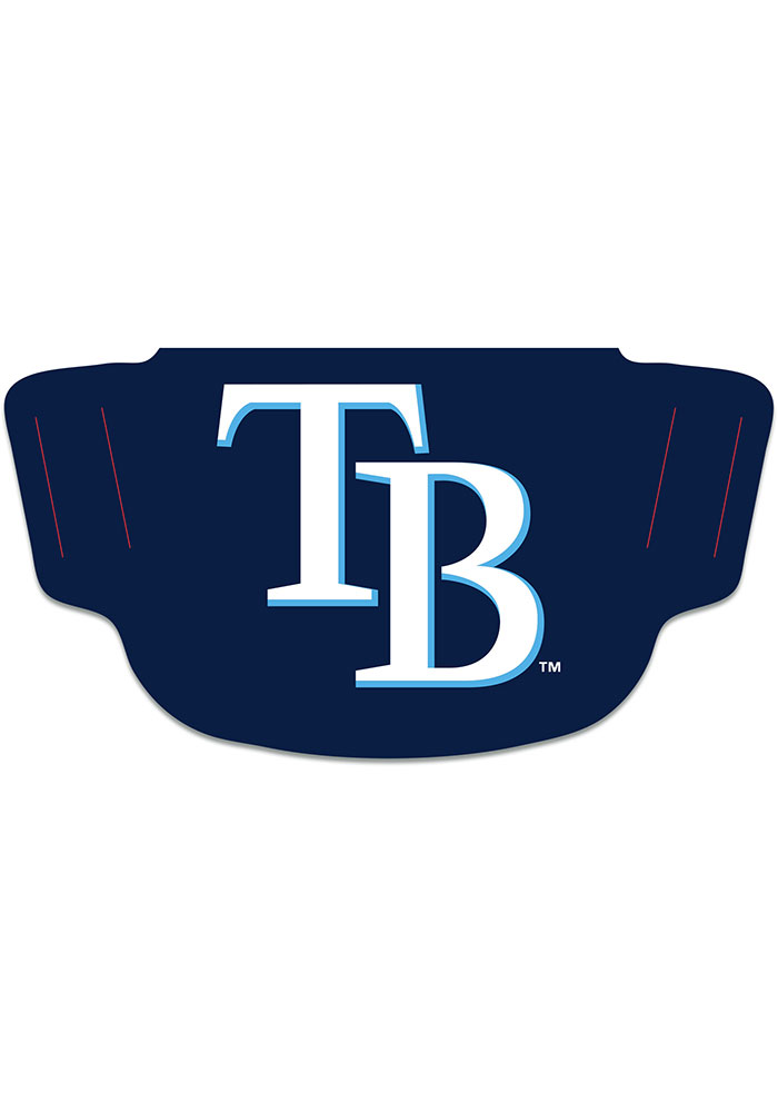 Tampa Bay Rays Team Logo Fan Mask - Navy Blue