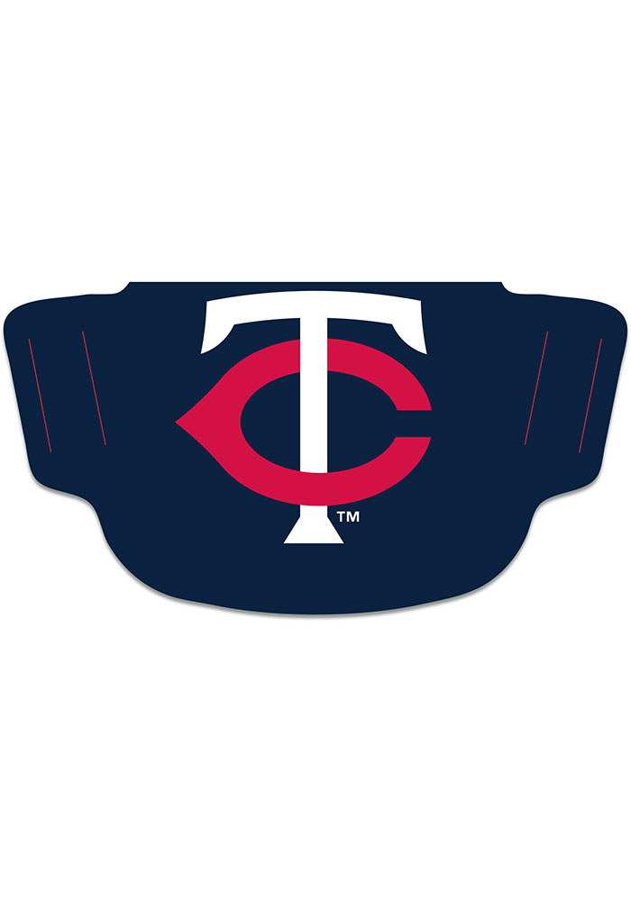 Minnesota Twins Team Logo Fan Mask - Red