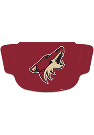 Arizona Coyotes Team Logo Fan Mask - Red