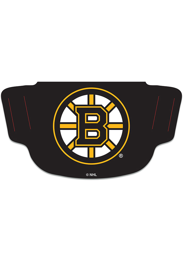 Boston Bruins Team Logo Fan Mask - Black