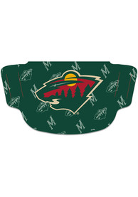 Minnesota Wild Repeat Logo Fan Mask - Green