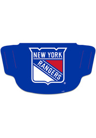 New York Rangers Team Logo Fan Mask - Blue