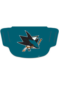 San Jose Sharks Team Logo Fan Mask - Teal