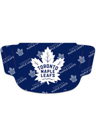 Toronto Maple Leafs Repeat Logo Fan Mask - Blue